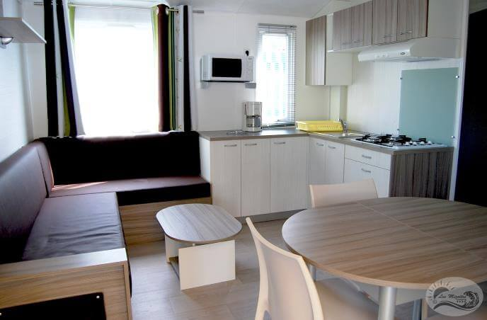 Mobil-home VIP 3 chambres